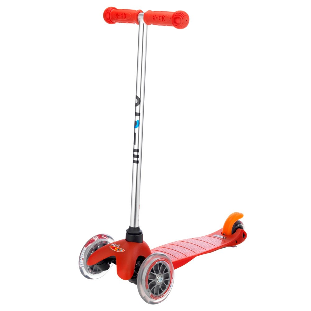 kickboard red mini micro scooter automobuild. Black Bedroom Furniture Sets. Home Design Ideas