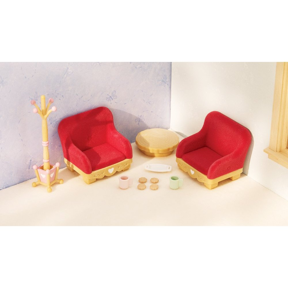 Calico Critters - Country Living Room Set - Automobuild