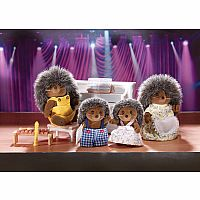 Calico Critters - The Pickleweeds Hedgehog Family